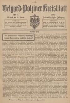 Belgard-Polziner Kreisblatt, 1915, Nr 4