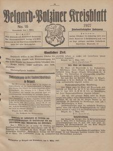 Belgard-Polziner Kreisblatt, 1927, Nr 18