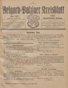 Belgard-Polziner Kreisblatt, 1927, Nr 24