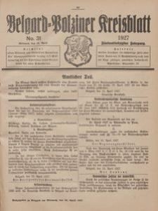 Belgard-Polziner Kreisblatt, 1927, Nr 31