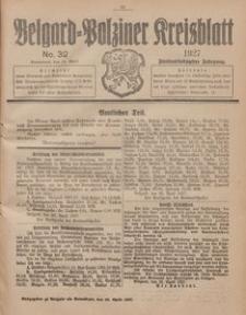 Belgard-Polziner Kreisblatt, 1927, Nr 32