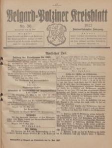 Belgard-Polziner Kreisblatt, 1927, Nr 38