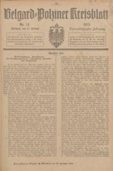 Belgard-Polziner Kreisblatt, 1915, Nr 14