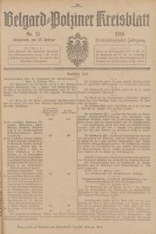 Belgard-Polziner Kreisblatt, 1915, Nr 15