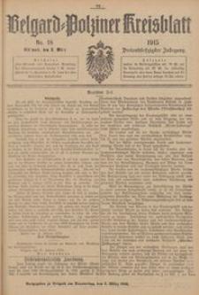 Belgard-Polziner Kreisblatt, 1915, Nr 18
