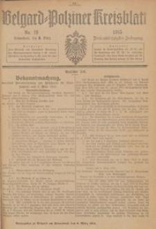 Belgard-Polziner Kreisblatt, 1915, Nr 19