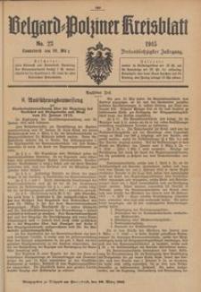 Belgard-Polziner Kreisblatt, 1915, Nr 23