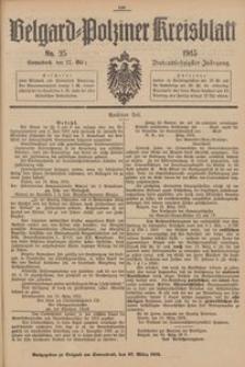 Belgard-Polziner Kreisblatt, 1915, Nr 25