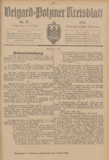 Belgard-Polziner Kreisblatt, 1915, Nr 27