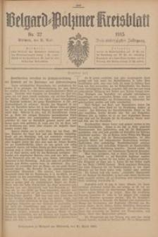 Belgard-Polziner Kreisblatt, 1915, Nr 32