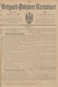 Belgard-Polziner Kreisblatt, 1915, Nr 37