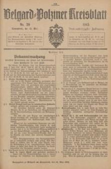 Belgard-Polziner Kreisblatt, 1915, Nr 39