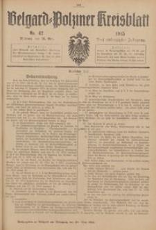 Belgard-Polziner Kreisblatt, 1915, Nr 42