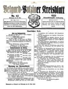 Belgard-Polziner Kreisblatt, 1923, Nr 43