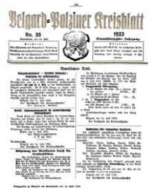 Belgard-Polziner Kreisblatt, 1923, Nr 55