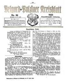 Belgard-Polziner Kreisblatt, 1923, Nr 56