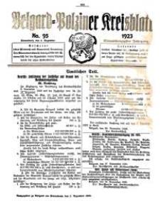 Belgard-Polziner Kreisblatt, 1923, Nr 95
