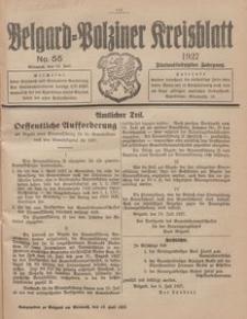 Belgard-Polziner Kreisblatt, 1927, Nr 55