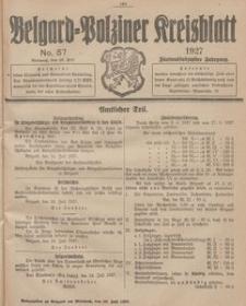 Belgard-Polziner Kreisblatt, 1927, Nr 57