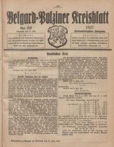 Belgard-Polziner Kreisblatt, 1927, Nr 59