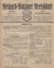 Belgard-Polziner Kreisblatt, 1927, Nr 60
