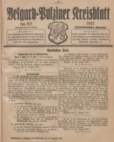 Belgard-Polziner Kreisblatt, 1927, Nr 67