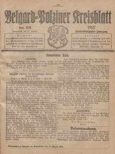 Belgard-Polziner Kreisblatt, 1927, Nr 68