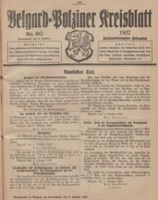 Belgard-Polziner Kreisblatt, 1927, Nr 80