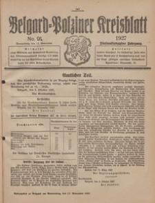Belgard-Polziner Kreisblatt, 1927, Nr 91