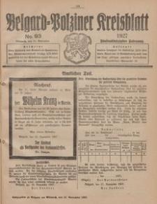 Belgard-Polziner Kreisblatt, 1927, Nr 93