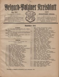 Belgard-Polziner Kreisblatt, 1927, Nr 94