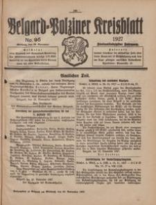 Belgard-Polziner Kreisblatt, 1927, Nr 95