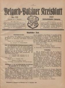 Belgard-Polziner Kreisblatt, 1927, Nr 101