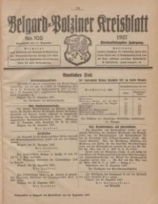 Belgard-Polziner Kreisblatt, 1927, Nr 102