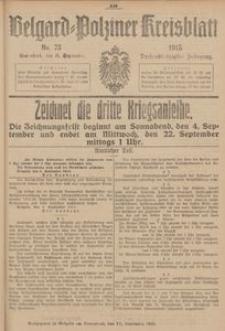 Belgard-Polziner Kreisblatt, 1915, Nr 73