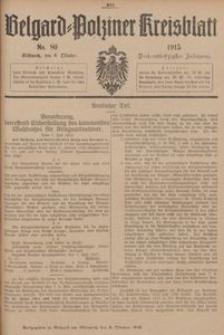 Belgard-Polziner Kreisblatt, 1915, Nr 80