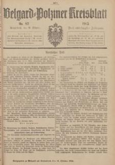 Belgard-Polziner Kreisblatt, 1915, Nr 83