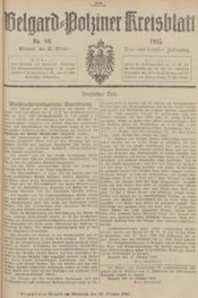 Belgard-Polziner Kreisblatt, 1915, Nr 86