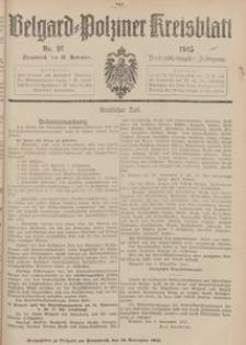 Belgard-Polziner Kreisblatt, 1915, Nr 91