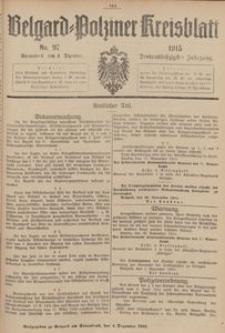 Belgard-Polziner Kreisblatt, 1915, Nr 97