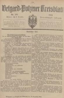 Belgard-Polziner Kreisblatt, 1915, Nr 100