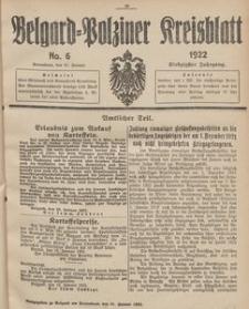 Belgard-Polziner Kreisblatt, 1922, Nr 6