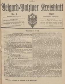 Belgard-Polziner Kreisblatt, 1922, Nr 8