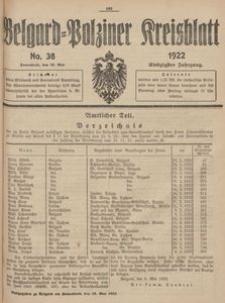 Belgard-Polziner Kreisblatt, 1922, Nr 38