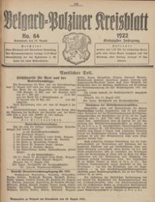 Belgard-Polziner Kreisblatt, 1922, Nr 64