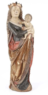 Sculpture Maria with a Child