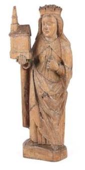 Sculpture Św. (Jadwiga?)