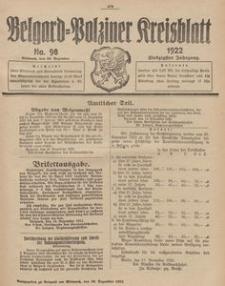 Belgard-Polziner Kreisblatt, 1922, Nr 98