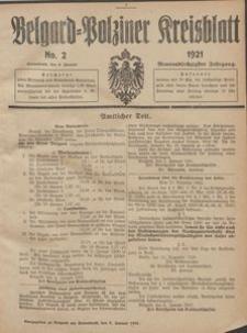Belgard-Polziner Kreisblatt, 1921, Nr 2