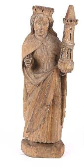 Rzeźba św. Barbara